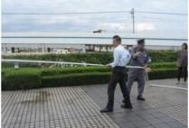 PiO(大田区産業プラザ)の消防訓練
